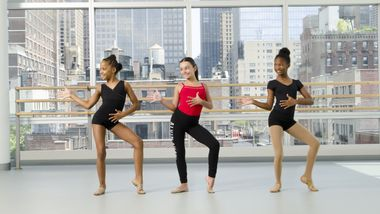 Broadway Jazz 4 Kids at Ailey Extension. Photo By Kyle Froman.