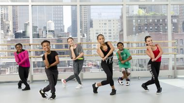 Hip-Hop 4 Kids at Ailey Extension. Photo By Kyle Froman.