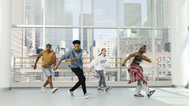 Hip-Hop at Ailey Extension. Photo By Kyle Froman.