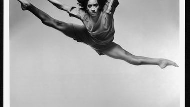 AAADT's Toni Pierce in Jawole Willa Jo Zollar's Shelter.  (circa 1992). Photo by Jack Mitchell. (©) Alvin Ailey Dance Foundation, Inc. and Smithsonian Institution
