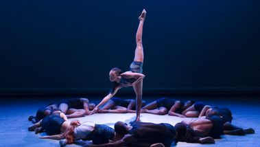 Ailey II in Renee I. McDonald's Breaking Point. Photo Kyle Froman