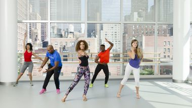 NY Style Mambo with Instructor Katherine Jimenez.. Photo by Kyle Froman