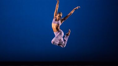Ailey II's Jessica Amber Pinkett in Robert Battle's Takademe. Photo by Amitava Sarkar.