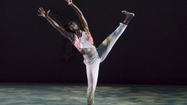 Ailey II's Yazzmeen Laidler in Juel D. Lane's Touch & Agree. Photo by Kyle Froman