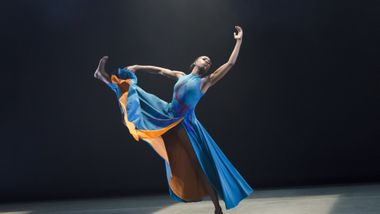Ailey II's Khalia Campbell in Darrell Grand Moultrie's Road to One. Photo by Kyle Froman