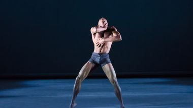Ailey II's Kyle H. Martin in Renee I. McDonald's Breaking Point. Photo by Kyle Froman