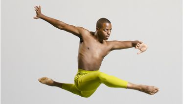 Ailey II's Antuan Byers. Photo by Kyle Froman