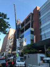 The Elaine Wynn & Family Education Wing Construction. Photo by Aaron Craig.
