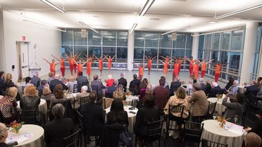 The Ailey School Students In Tracy Inman's Reverence. Photo by Christopher Duggan