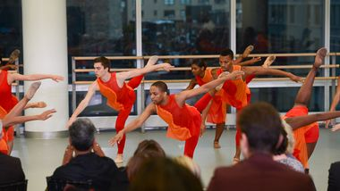The Ailey School Students In Tracy Inman's Reverence. Photo by Christopher Duggan.