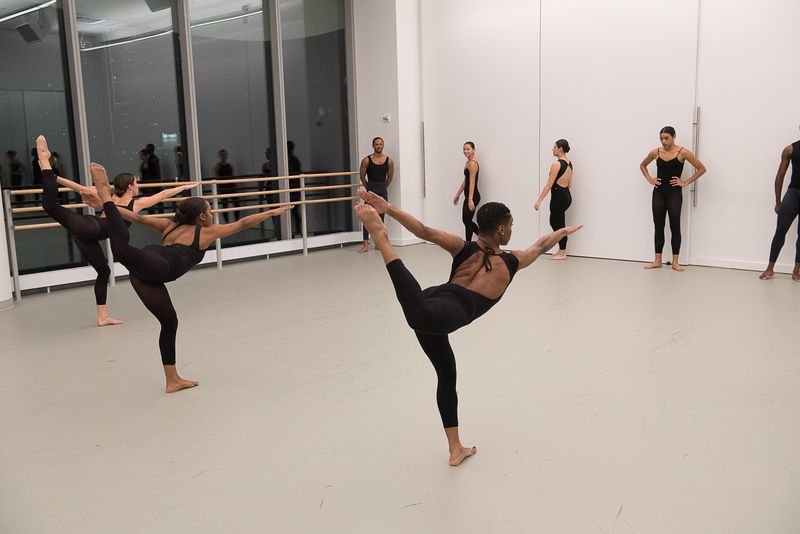 The Ailey School's Professional Division in Horton Class. Photo by Christopher Duggan.