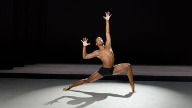 Ailey II's Christopher R. Wilson. Photo by Kyle Froman