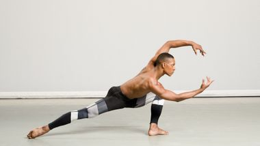 Ailey II's Marcus Williams. Photo by Kyle Froman