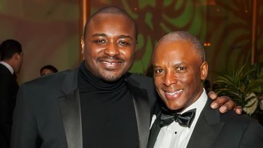 Artistic Director Robert Battle and Chris Womack