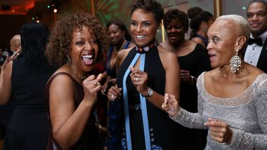 Gala Co-Chair Gina Adams, Tisha Hyter, and Guest
