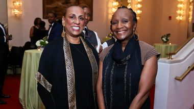 Sarita Allen and Ailey II Artistic Director Emerita Sylvia Water