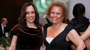 U.S. Senator Kamala Harris and Gala Co-Chair Debra L. Lee