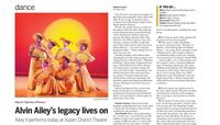 The Aspen Times - Alvin Ailey's Legacy Lives On