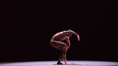 Ailey II's Leonardo Brito in Troy Powell's Ebb and Flow. Photo by Kyle Froman