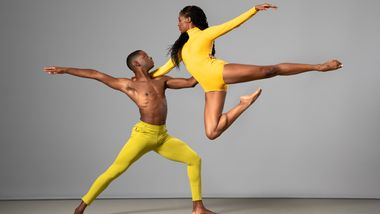 Ailey II's Corrin Rachelle Mitchell and Marcel Wilson Jr. Photo by Kyle Froman