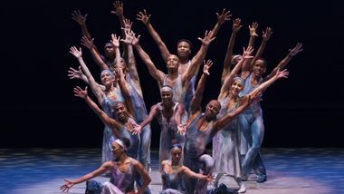 Alvin Ailey American Dance Theater in Alvin Ailey's Night Creature