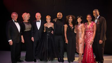 Gala Co-Chairs with Artistic Director Robert Battle and Honorary Chair Angela Bassett