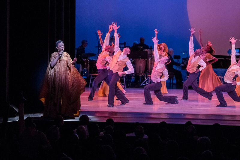 AAADT in Alvin Ailey's Revelations with guest Singer Ledisi