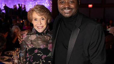 Gala Co-Chair and Ailey Board President Emerita Joan Weill and Artistic Director Robert Battle