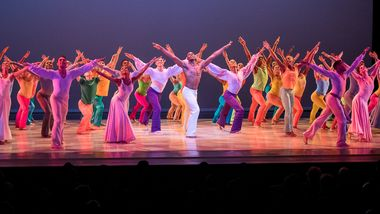 Alvin Ailey American Dance Theater in Alvin Ailey's Memoria with live music