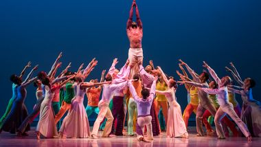 AAADT in Alvin Ailey's Memoria with live music