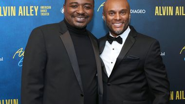 Artistic Director Robert Battle and Kenny Lattimore