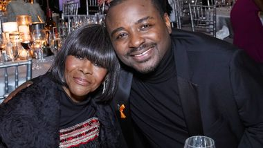 Honorary Chair Cicely Tyson and Artistic Director Robert Battle