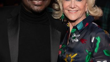 Artistic Director Robert Battle and Elaine Wynn