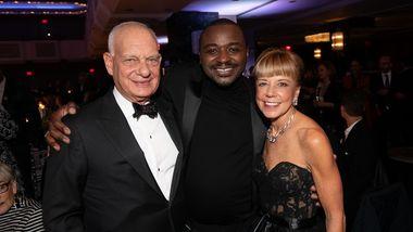 Gala Co-Chairs Eric & Daria  Wallach and Artistic Director Battle