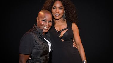 AAADT Company Member Hope Boykin with Honorary Chair Angela Bassett
