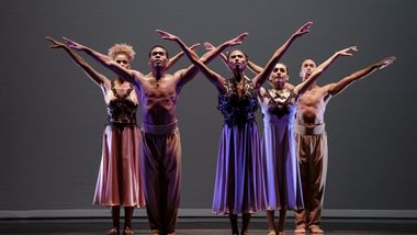 Alvin Ailey American Dance Theater in Ronald K. Brown's The Call