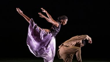 AAADT's Jacqueline Green and Solomon Dumas in Ronald K. Brown's The Call
