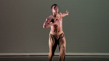 AAADT's Solomon Dumas in Ronald K. Brown's The Call