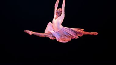 AAADT's Jacqueline Green in Alvin Ailey's The Lark Ascending from Timeless Ailey 60th Anniversary program