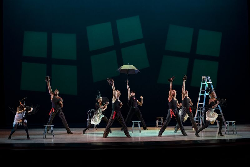 Alvin Ailey American Dance Theater in Alvin Ailey's Blues Suite from Timeless Ailey 60th Anniversary program