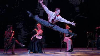 AAADT's Michael Francis McBride and Company in Alvin Ailey's For Bird  - With Love from Timeless Ailey 60th Anniversary program