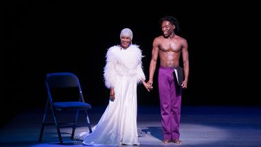 Honorary Chair Cicely Tyson and AAADTs Chalvar Monteiro in Robert Battles For Alvin. Photo by Christopher Duggan4