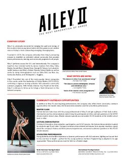 2018 Ailey II Electronic Press Kit_3.14.18