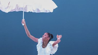 AAADT's Ashley Mayeux in Alvin Ailey's Revelations