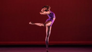 Ailey II's Khalia Campbell in Darrell Grand Moultrie's Road to One. Photo by Nan Melville