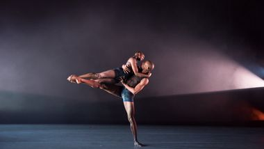 Ailey II's Jessica Amber Pinkett and Christopher R. Wilson in Renee I. McDonald's Breaking Point. Photo by Nan Melville