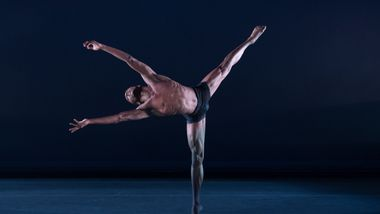 Ailey II's Kyle H. Martin in Renee I. McDonald's Breaking Point. Photo by Nan Melville