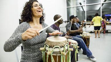 World Dance Celebration's Sabar Workshop at Ailey Extension