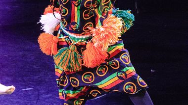 World Dance Celebration's West African Performance