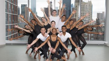 Students from The Ailey School Professional Division